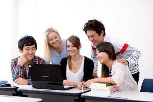 B Ed students